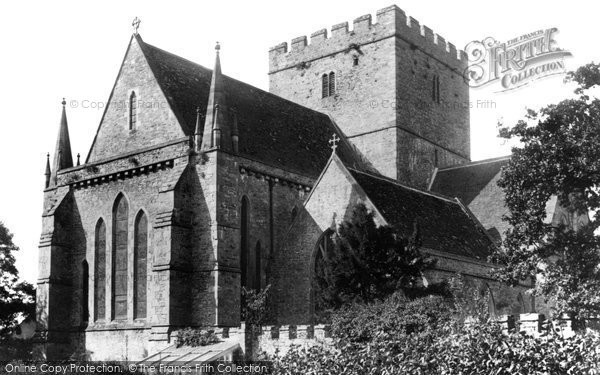 Brecon, Cathedral 1899