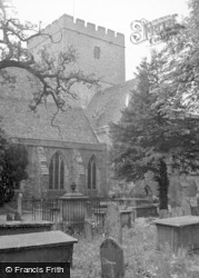 Brecon, Cathedral 1953