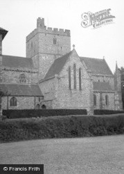 Brecon, Cathedral 1955