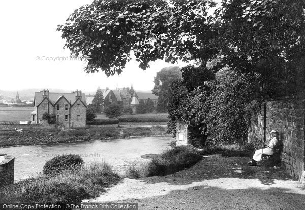 Brecon, Christ College From The Captain's Walk 1910