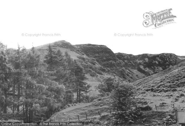Brecon, Fan Frynych, Beacons Nature Reserve c.1965