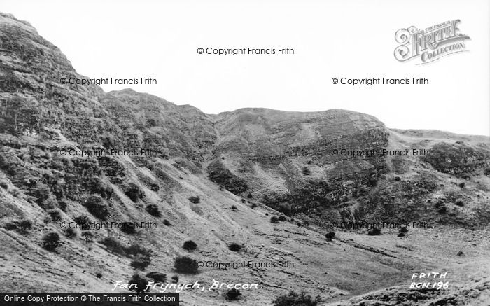 Photo of Brecon, Fan Frynych, Beacons Nature Reserve c.1965