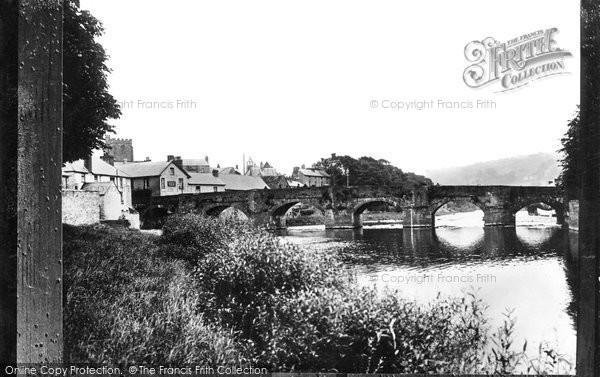 Brecon, From Promenade c.1940