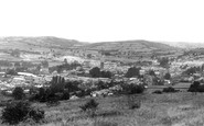 Brecon, General View From Slwch Tump c.1965