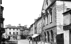 Brecon, High Street 1899
