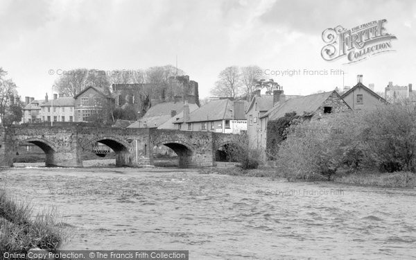 Brecon, Llanfaes Bridge c.1960