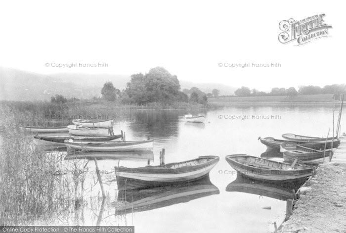 Brecon, Llangorse Lake 1899