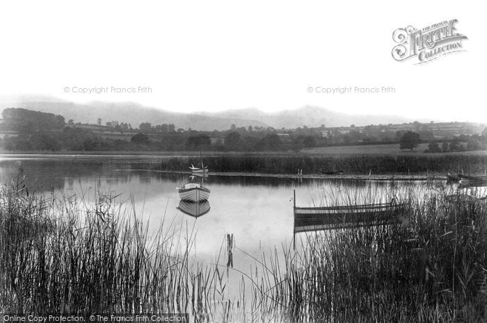 Brecon, Llangorse Lake 1899