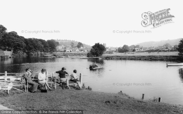 Brecon, River Usk c.1965