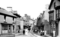 Brecon, Ship Street 1910