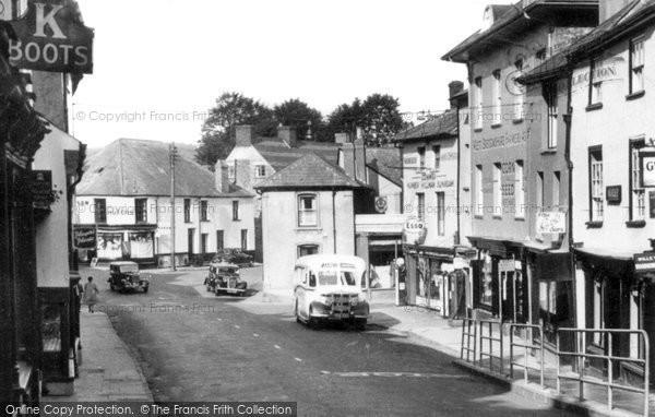 Brecon, Ship Street c.1955