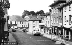 Brecon, Ship Street c.1955