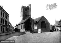 Brecon, St Mary's Church 1899