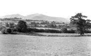 Brecon, The Beacons From Hay Road c.1965