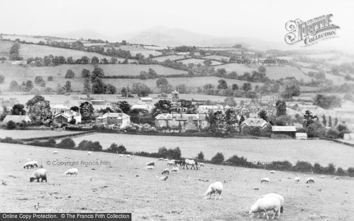 Photo of Brecon, The Beacons From Slwch Tump c.1965
