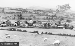 Brecon, The Beacons From Slwch Tump c.1965