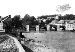 Brecon, The Bridge And Castle 1899