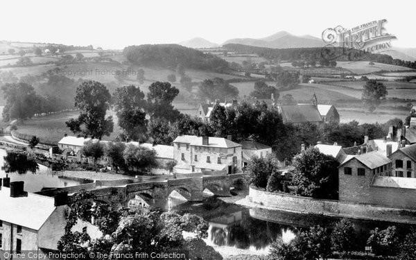 Brecon, The Bridge And The Beacons 1899