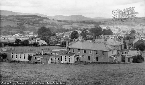 Brecon, The Hospital c.1965