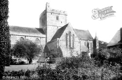 Brecon, The Priory Church 1899