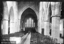 Brecon, The Priory Church Interior 1899