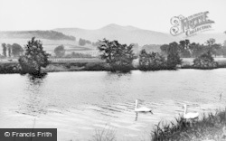 Brecon, The River And Beacons c.1955