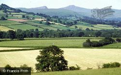 Brecon, Vale Of Usk, View Towards Pen Y Fan And Y Cribyn 1983