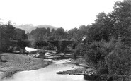 Brecon, View From Aqueduct 1899