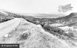 Brecon, View From The Beacons c.1955