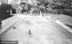 Bredenbury, Court, The Swimming Pool c.1960