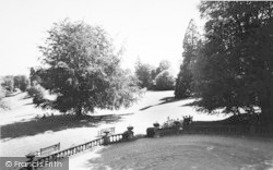 Bredenbury, View From Bredenbury Court c.1955