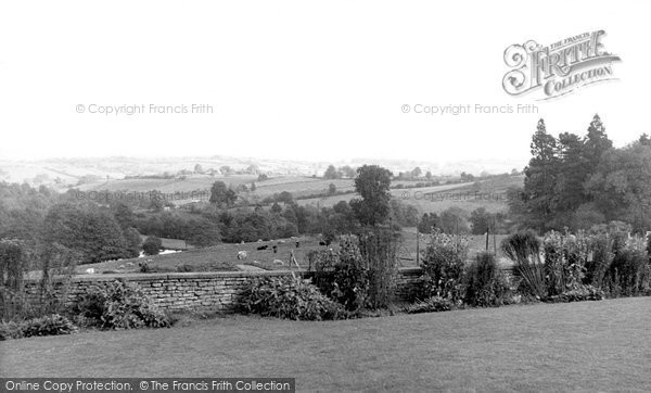 Bredenbury, view from the School c1955