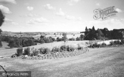 Bredenbury, View Towards Malvern Hills c.1960