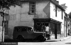 Bredgar, Post Office And Van c.1955