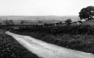Bredon, General View From Bredon Hill c.1955