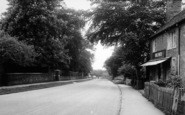 Bredon, Station Road c.1955