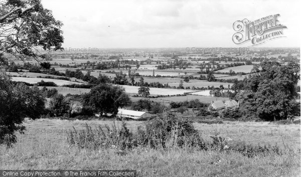 Bremhill, Chippenham From Maud Heath c.1960