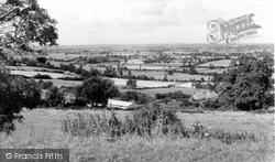 Bremhill, Chippenham From Maud Heath c.1960