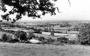 Bremhill, Chippenham from Maud Heath c1960