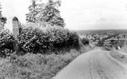 Bremhill, Inscription Stone, Wick Hill c1960