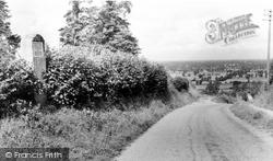 Bremhill, Inscription Stone, Wick Hill c.1960