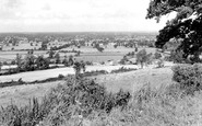 Bremhill, view from Maud Heath c1960