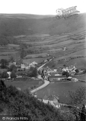 Moors And Village c.1945, Brendon