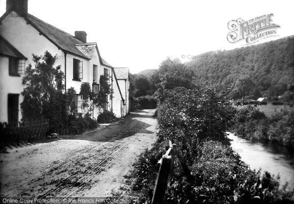 Brendon, Stag Hunters Inn 1907