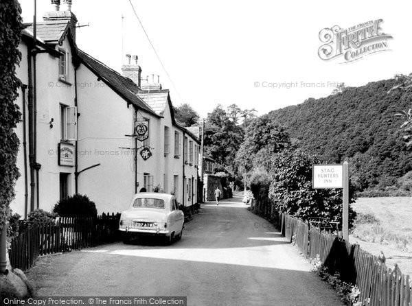 Brendon, Stag Hunters Inn c.1960