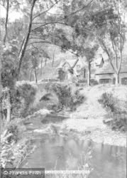 Brendon, The Old Smithy, Leaford Bridge 1911