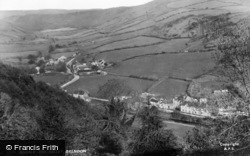 Brendon, The Valley c.1955