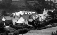 Brendon, The Village 1911