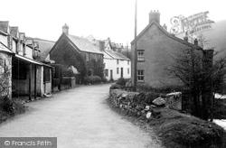 Brendon, The Village c.1955