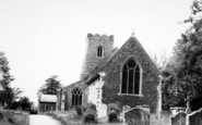 Brent Eleigh, Parish Church c.1960
